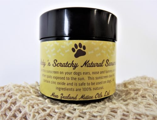 Natural Dog Sunscreen