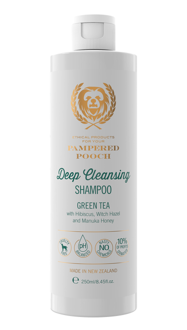 Pampered Pooch Green Tea Cleansing Shampoo