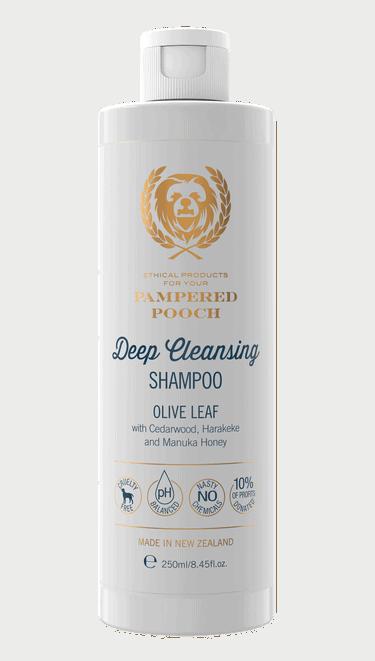 Pampered Pooch Olive Leaf Deep Cleansing Shampoo