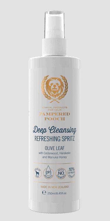 Pampered Pooch Olive Leaf Refreshing Spritz