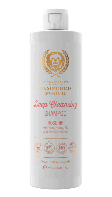 Pampered Pooch Rosehip Deep Cleansing Shampoo