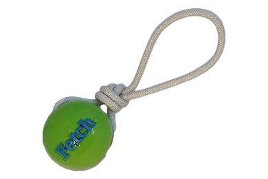 Planet Dog Fetch Ball With Rope