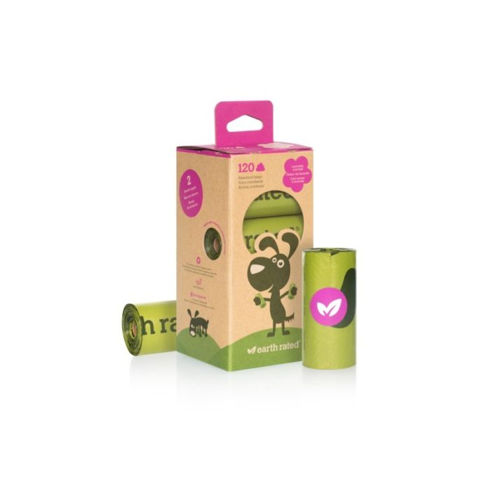 Earth Rated Degradable Dog Poop Bags